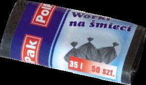 Worki HDPE 35L, 50 szt.